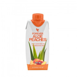 Forever Aloe Peaches 330 Ml